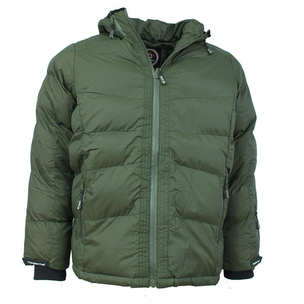 CANADIAN PEAK bunda pánská CATEROL MEN zimní prošívaná S, khaki