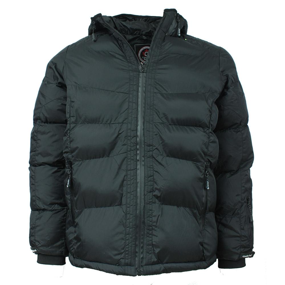 CANADIAN PEAK bunda pánská CATEROL MEN zimní prošívaná S, černá