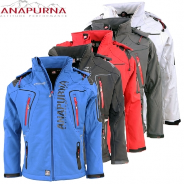 ANAPURNA bunda pánská TENTATIVE MEN 005 softshell