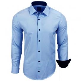5179a636745b RUSTY NEAL košeľa pánska R-44 dlhý rukáv slim fit