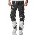 KOSMO LUPO kalhoty pánské KM176 jeans džíny