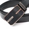 BOND pásek pánský kožený B9 automatická spona 1 šířka 3,5 cm