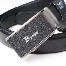 BOND opasok pánský kožený B9 automatická spona 1 šířka 3,5 cm