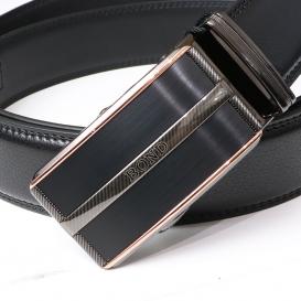 BOND opasok pánský kožený B12 automatická spona 1 šířka 3,5 cm