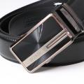 BOND opasok pánský kožený B13 automatická spona 1 šířka 3,5 cm