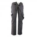 QUATRO nohavice pánske Q1-2 kapsáče čierné