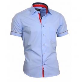 BINDER DE LUXE košile pánská 84012 krátký rukáv
