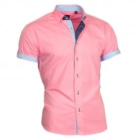 BINDER DE LUXE košile pánská 83306 krátký rukáv