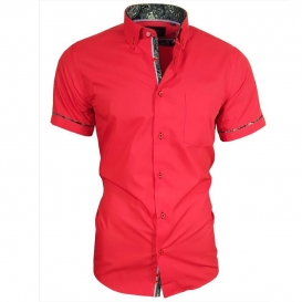 BINDER DE LUXE košile pánská 82901 krátký rukáv