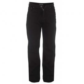 ROCKFORD kalhoy pánské RJ520 COMFORT BLACK Jeans nadměrná velikost