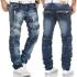 KOSMO LUPO kalhoty pánské KM136 jeans džíny
