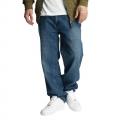 Ecko Unltd. nohavice pánske Naboo Baggy Fit Jeans Mid Blue