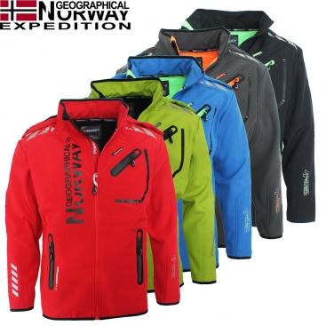 GEOGRAPHICAL NORWAY bunda pánská RIVOLI softshell DRY TECH 5000