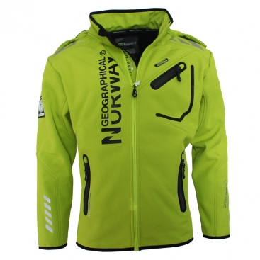 GEOGRAPHICAL NORWAY bunda pánská RIVOLI softshell DRY TECH 5000
