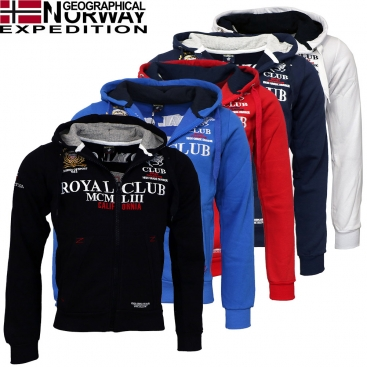 GEOGRAPHICAL NORWAY mikina pánska GANTUB MEN 100