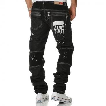 KOSMO LUPO kalhoty pánske KM159 jeans džínsy