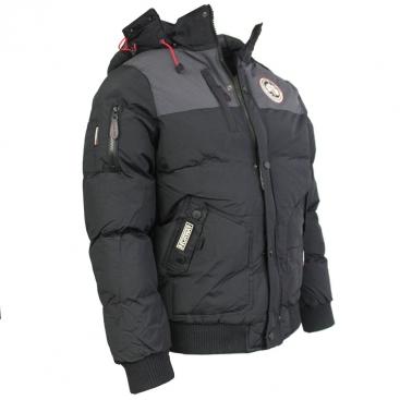 GEOGRAPHICAL NORWAY bunda pánská VERTIGO zimní, prošívaná s kapucí