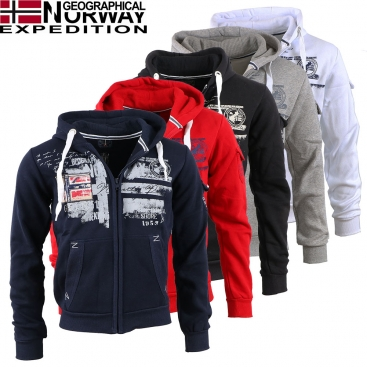 GEOGRAPHICAL NORWAY mikina pánská FOHNSON MEN 100