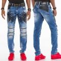 CIPO & BAXX nohavice pánske CD461 L:34 jeans