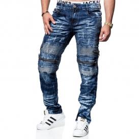 KOSMO LUPO nohavice pánske KM131 jeans džínsy
