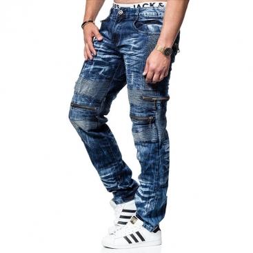 KOSMO LUPO kalhoty pánské KM131 jeans džíny
