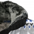 CARISMA svetr pánský 7011 límec s kožíškem zapínání na knoflíky