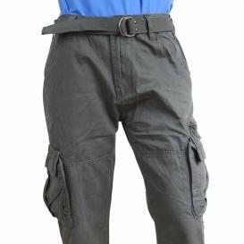 Kapsáče panské kalhoty QUATRO šedé