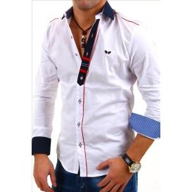CARISMA košile pánská 8037 dlouhý rukáv slim fit