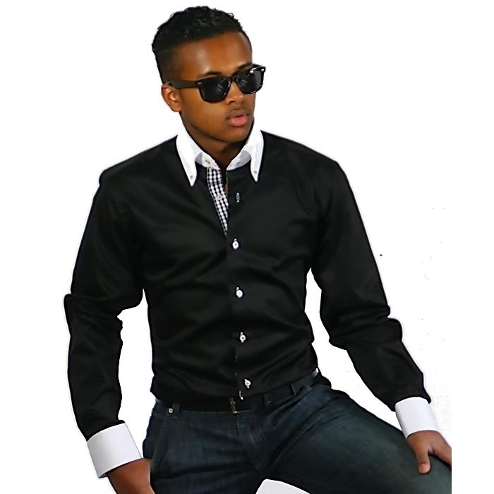 0ce22e49572 BINDER DE LUXE košile pánská luxusní 80802 satén - EGO-MAN.CZ