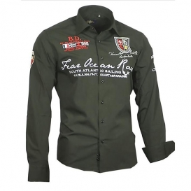 BINDER DE LUXE košile pánská 80504 dlouhý rukáv
