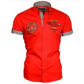 BINDER DE LUXE košile pánská 82603 krátký rukáv