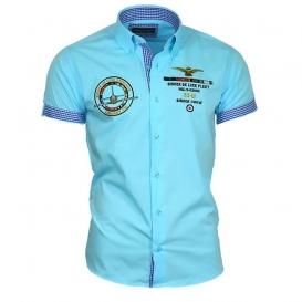 BINDER DE LUXE košile pánská 82608 krátký rukáv