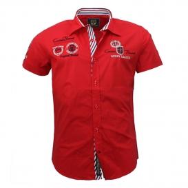CARISMA košile pánská 9002 krátký rukáv slim fit