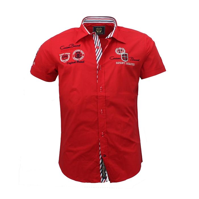 c5093818ee88 CARISMA košeľa pánska 9002 krátky rukáv slim fit - EGO-MAN.CZ