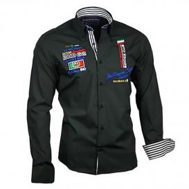 BINDER DE LUXE košile pánská 81602 dlouhý rukáv