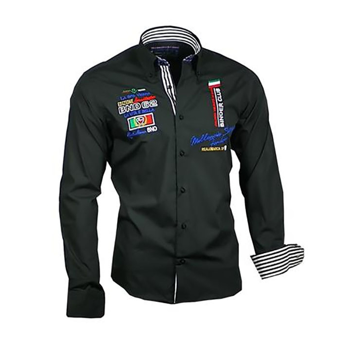 7cee1da26e6 BINDER DE LUXE košile pánská 81602 dlouhý rukáv - EGO-MAN.CZ