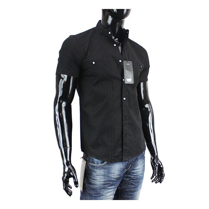 CARISMA košile pánská 9006 krátký rukáv slim fit - EGO-MAN.CZ e3430fe2e9