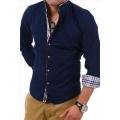 CARISMA košile pánská 8070 dlouhý rukáv slim fit