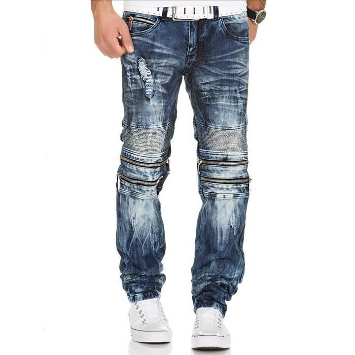KOSMO LUPO kalhoty pánské KM143 jeans džíny - EGO-MAN.CZ b9377bd3d6