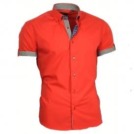 BINDER DE LUXE košile pánská 83301 krátký rukáv