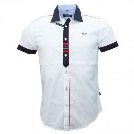 b1c5e5b5c2b3 CARISMA košeľa pánska 9008 krátky rukáv slim fit