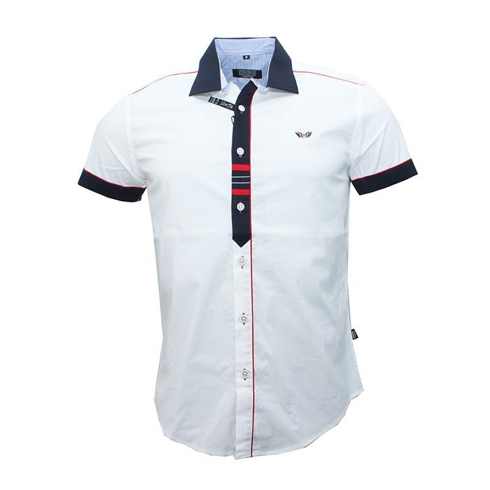 c210512f5ef CARISMA košile pánská 9008 krátký rukáv slim fit - EGO-MAN.CZ