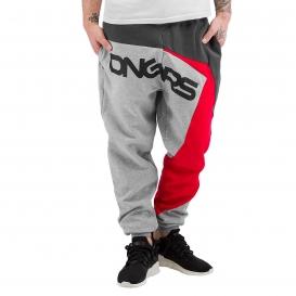 Dangerous DNGRS kalhoty pánské Sweatpants Grey Melange tepláky