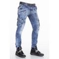 CIPO & BAXX kalhoty pánské CD383  kapsáče jeans