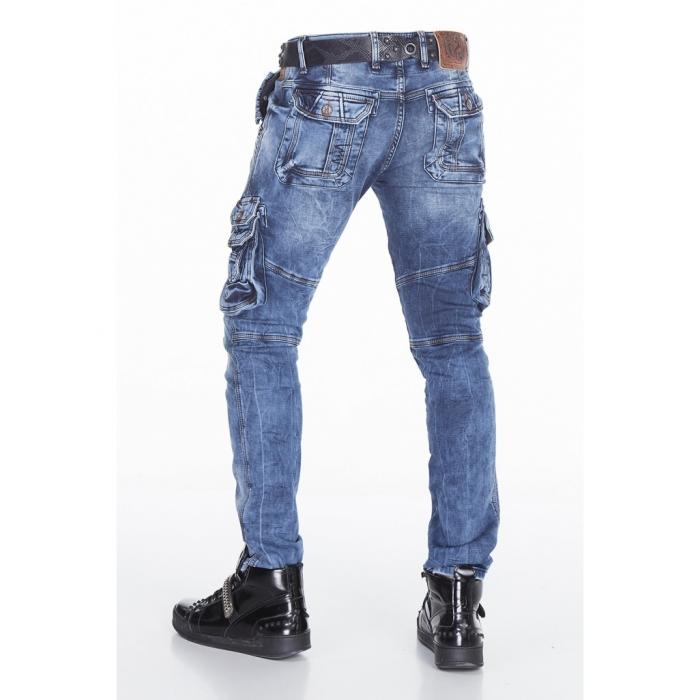 CIPO   BAXX nohavice pánske CD383 kapsáče jeans - EGO-MAN.CZ a603aee02f