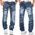 KOSMO LUPO kalhoty pánské KM132 jeans džíny