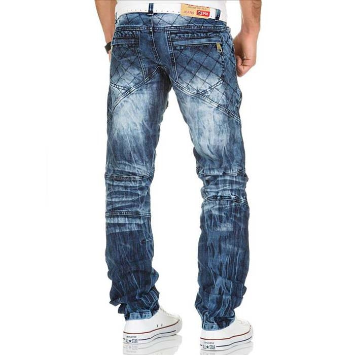 3f78c523d63e KOSMO LUPO nohavice pánske KM132 jeans džínsy - EGO-MAN.CZ