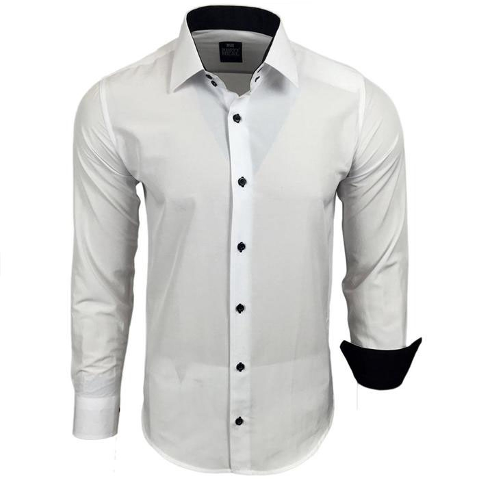 fac120505a4 RUSTY NEAL košile pánská R-44 dlouhý rukáv slim fit - EGO-MAN.CZ