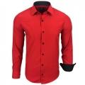 RUSTY NEAL košeľa pánska R-44 dlhý rukáv slim fit